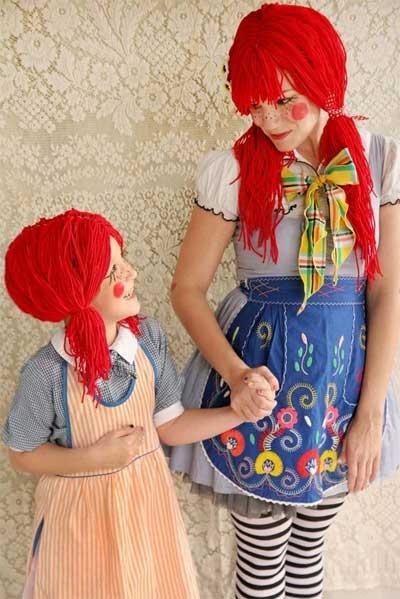 赤毛のアン ハロウィン コスチューム