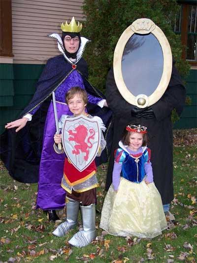 白雪姫 ハロウィン 仮装 家族