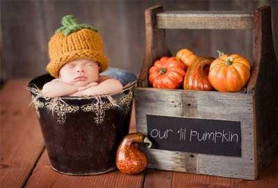 ハロウィン ベビー かぼちゃの仮装