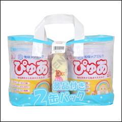 雪印 ぴゅあ 820g×2缶パック
