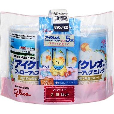 アイクレオ フォローアップミルク 800g 2缶 セット