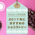 【チョコレート好き必見!】2017年におすすめのショコラトリー