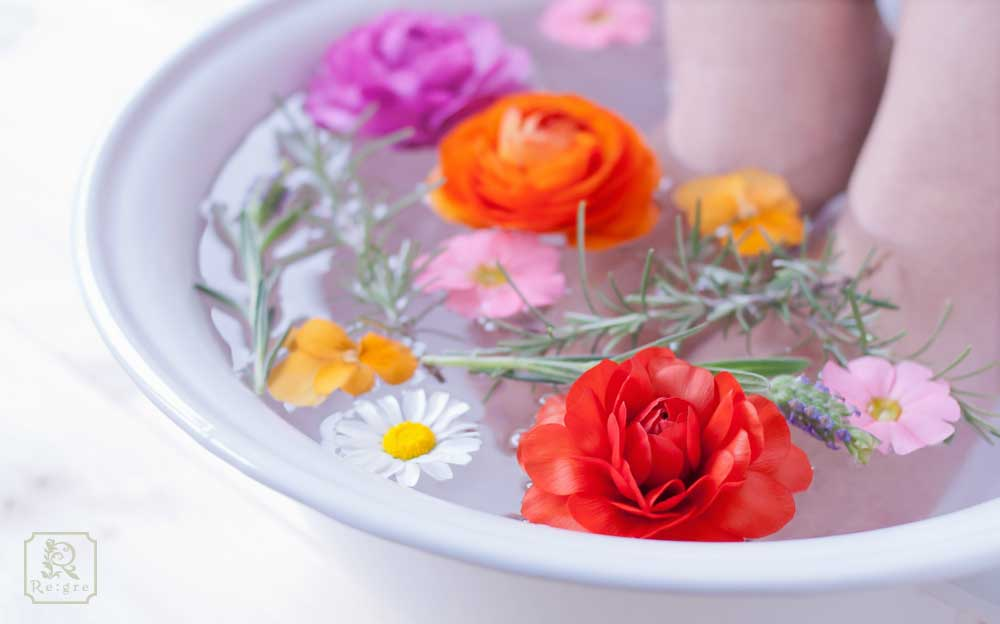 春バテ 対策 予防 足湯