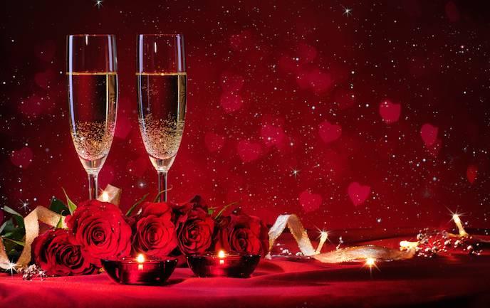 ロマンチック レッド